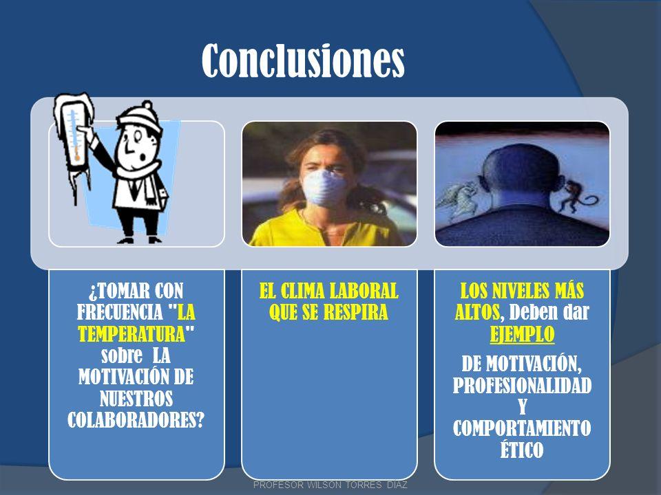 Conclusiones ¿TOMAR CON FRECUENCIA