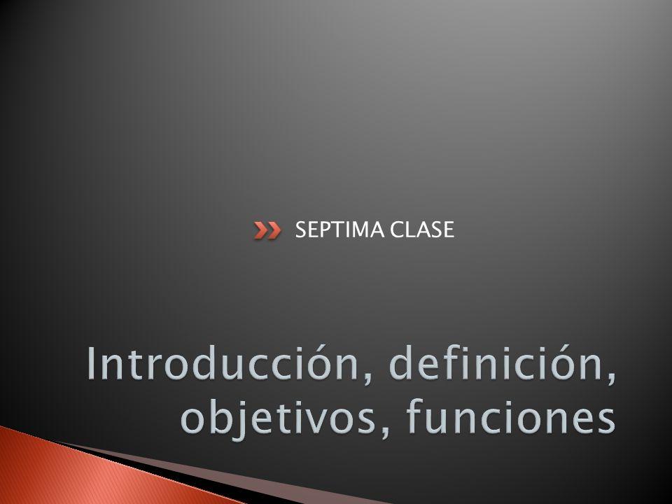 SEPTIMA CLASE