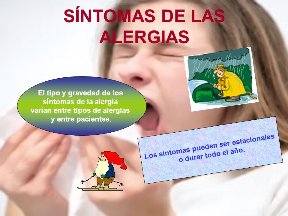 ¿POR QUÉ ALGUNAS PERSONAS DESARROLLAN ALERGIAS.