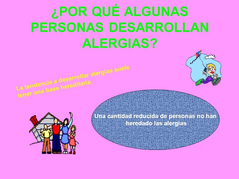 ¿CÓMO SE DIAGNOSTICAN LAS ALERGIAS Hay alergias fáciles y difíciles de diagnosticar.