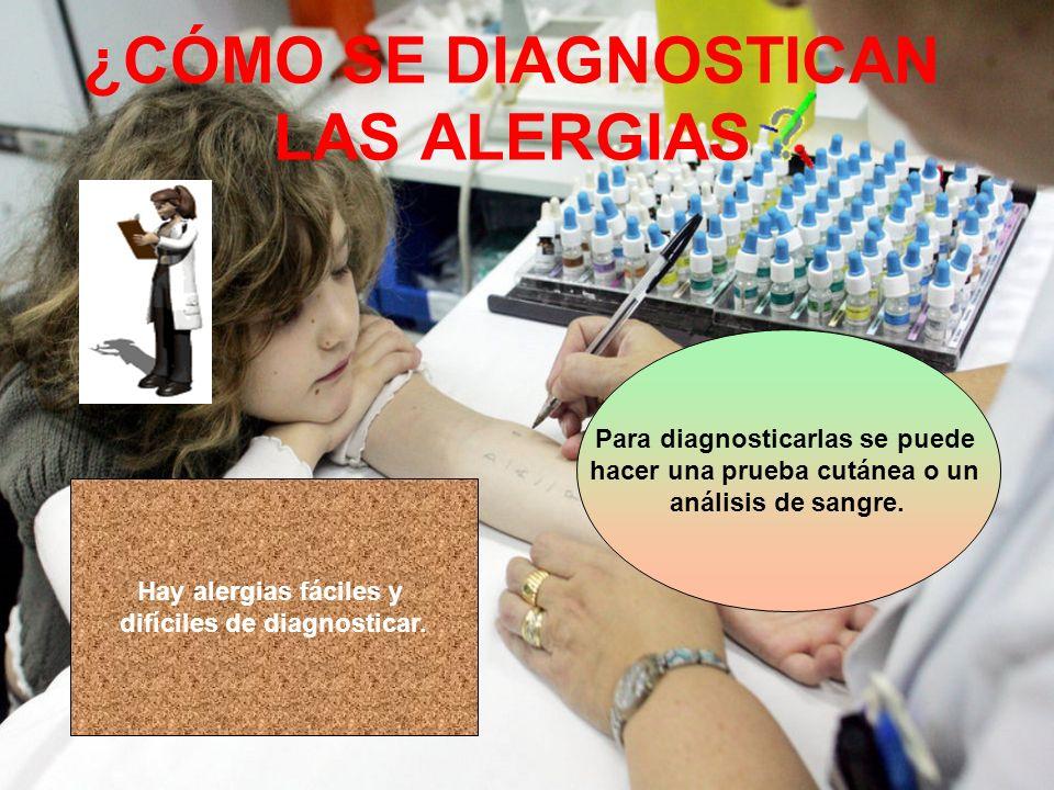 PREVENCIÓN DE AS ALERGIAS V a c u n a r n o s, e v i t a r a m b i e n t e s c e r r a d o s y h ú m e d o s … s o n a l g u n o s d e l o s m é t o d o s c o n t r a l a s a l e r g i a s No tener contacto con la sustancia que te provoca alergia es la mejor prevención.