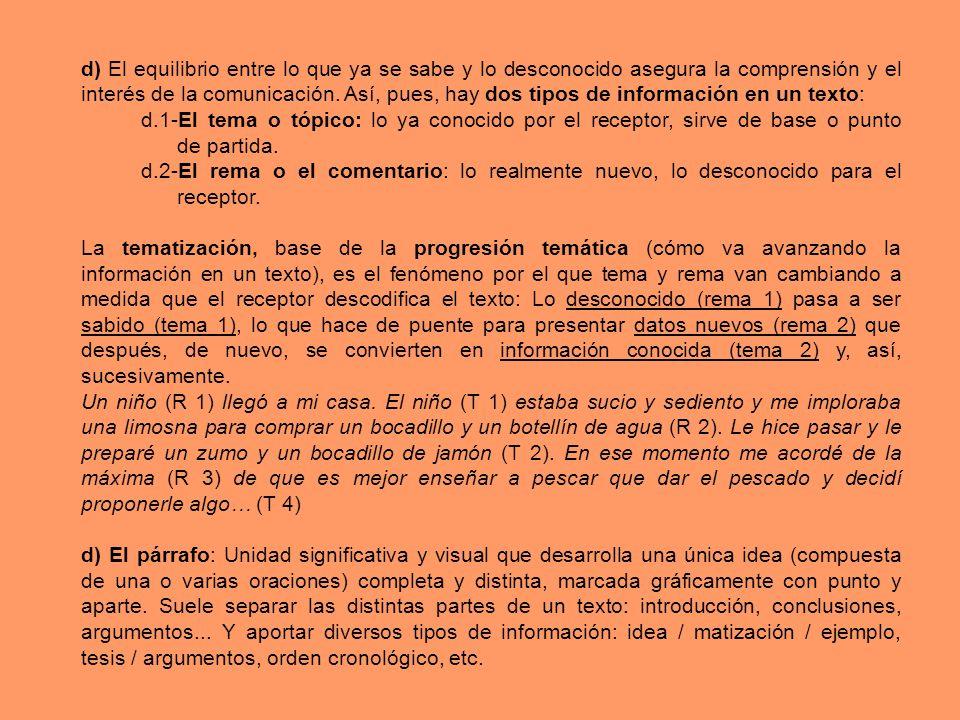 Recurso Línea/sEjemplo concreto (observaciones) Repeticiones Sinónimos Sinónimos contextuales Campos semánticos Proformas (anafóricas o catafóricas).