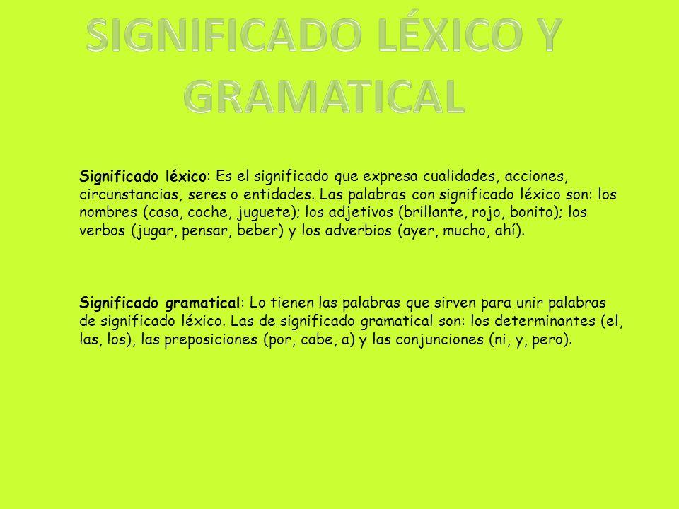 Significado léxico y gramatical Significado literal y figurado e implícito Intención comunicativa y funciones del lenguaje Niveles lingüísticos (culto