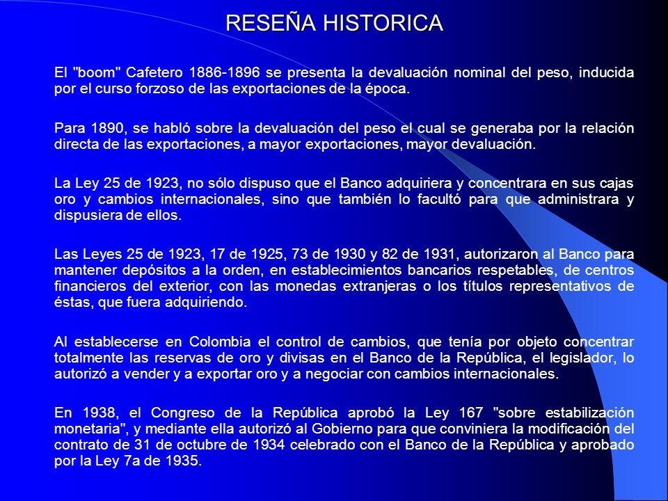 RESEÑA HISTORICA El