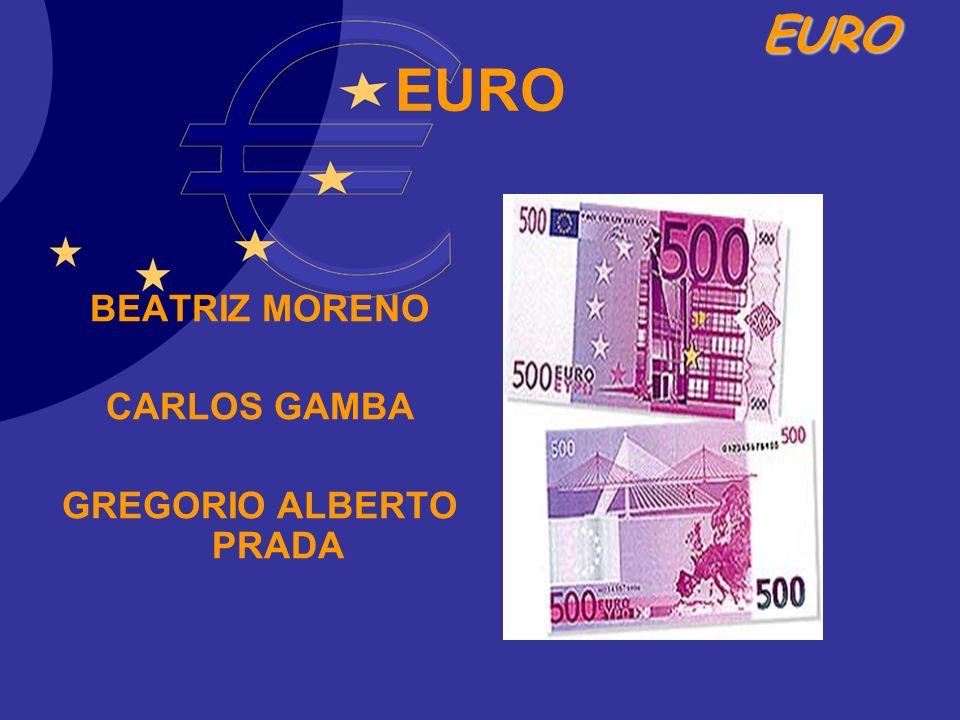 EURO El 1 de enero de 2002, los billetes y monedas en euros entraron en circulación en doce Estados miembros de la Unión Europea.
