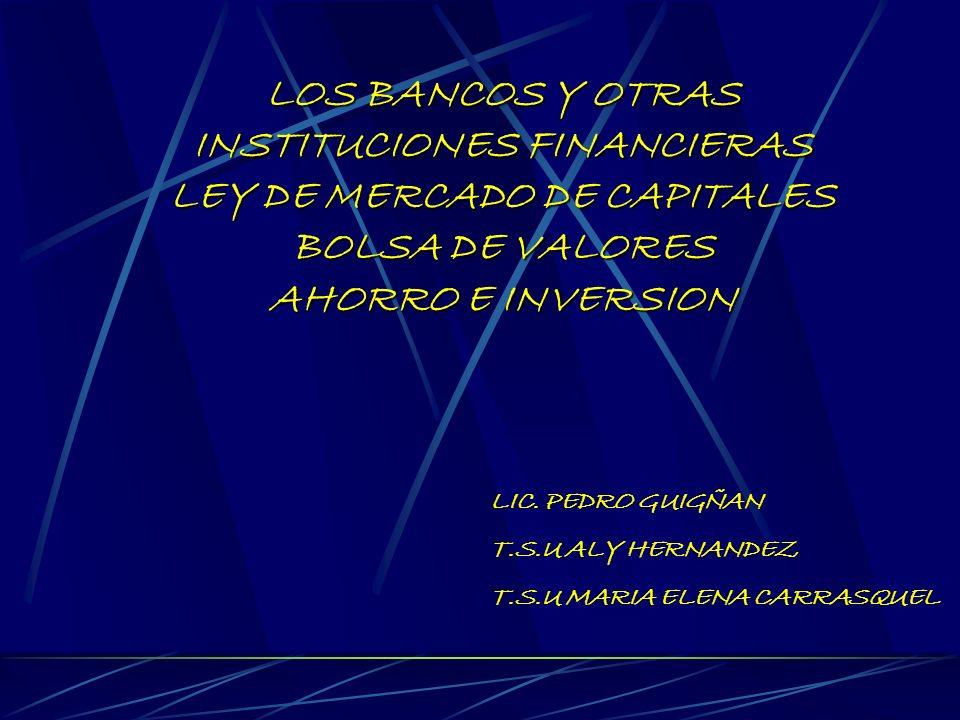 MERCADO DE CAPITALES LEY DE MERCADO DE CAPITALES ANALISIS DE POSIBILIDADES DE INVERSION TITULOS DE VALORES RENTA VARIABLE RENTA FIJA EMISION SECUNDARIA EMISION PRIMARIA ANALISIS FUNDAMENTAL ANALISIS TECNICO ELEMENTOS DEL MERCADO DE CAPITALES CAJA DE VALORES COMISION NACIONAL DE VALORES ENTIDADES EMISORAS BOLSA DE VALORES CORREDORES DE TITULOS VALORES CASA DE BOLSA INTERMEDIARIOS