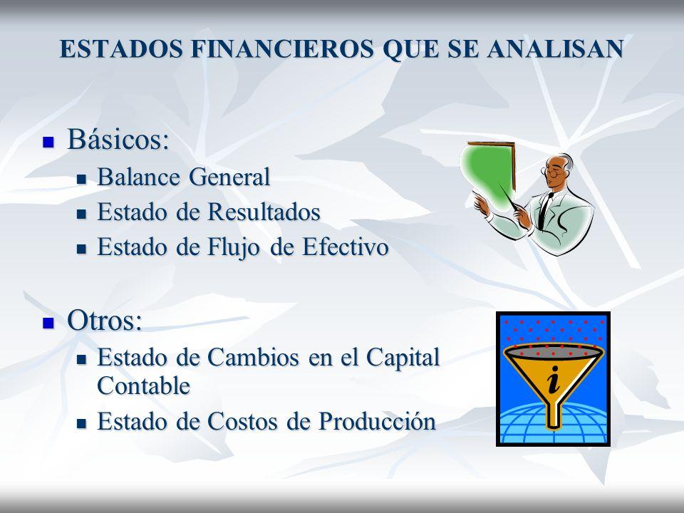 NECESIDAD DE QUE LOS ESTADOS FINANCIEROS ESTEN AUDITADOS Puesto que el trabajo de análisis e interpretación de estados financieros es arduo, estos deb