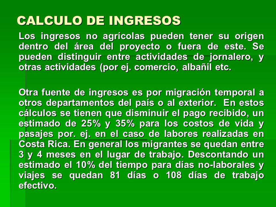SITUACION DE PARTIDA / EXANTE Los presupuestos de cultivo deben ser elaborados en diferentes niveles tecnológicos: por. ej. maíz labranza cero, maíz c