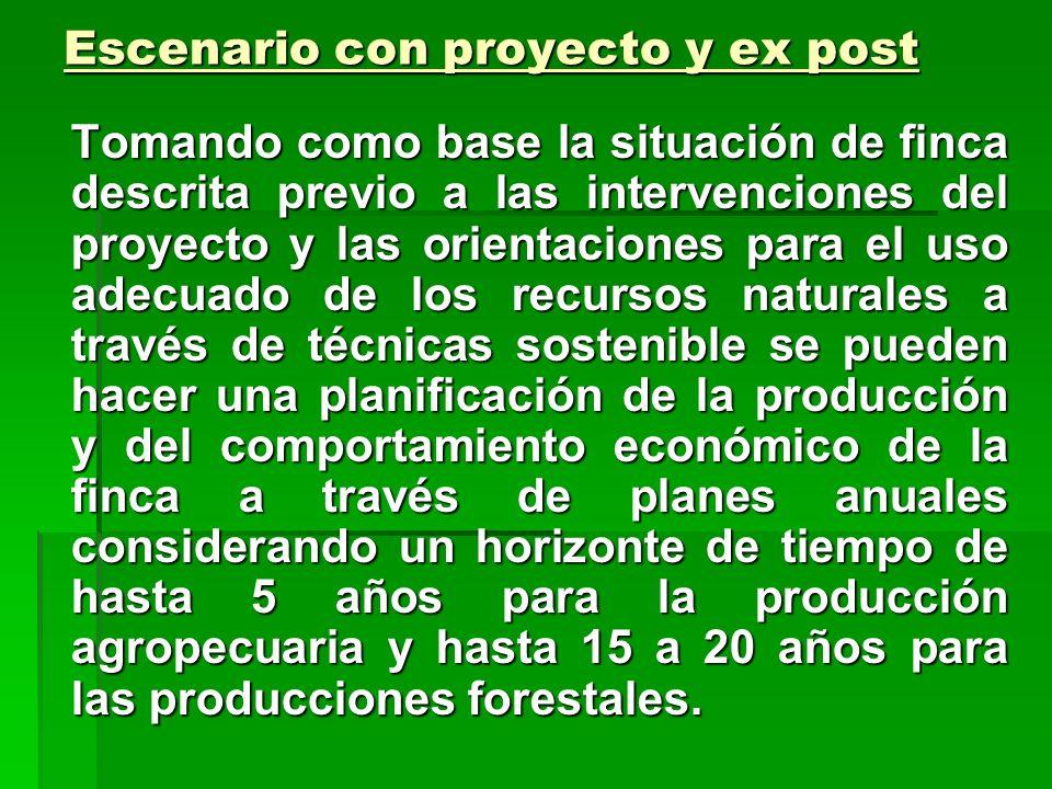 CALCULO DE INGRESOS Los ingresos no agrícolas pueden tener su origen dentro del área del proyecto o fuera de este. Se pueden distinguir entre activida