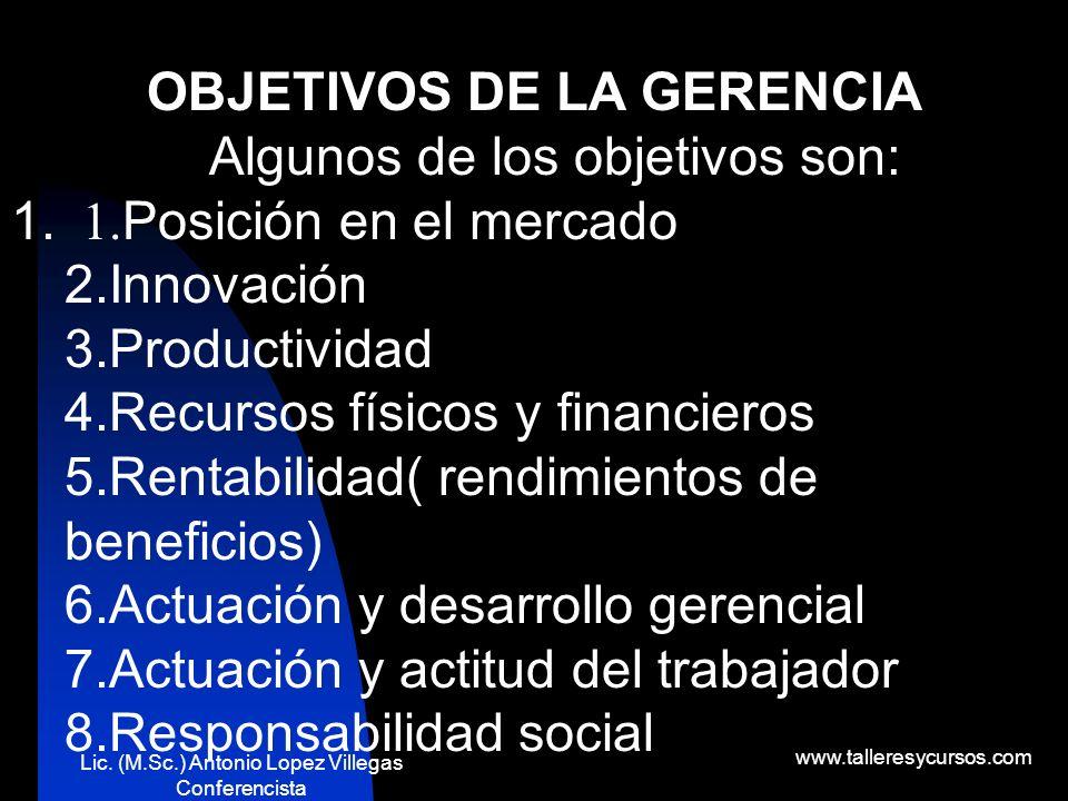 Lic. (M.Sc.) Antonio Lopez Villegas Conferencista www.talleresycursos.com ¡Creo que fuiste tú! Si tú, no te hagas el desentendido