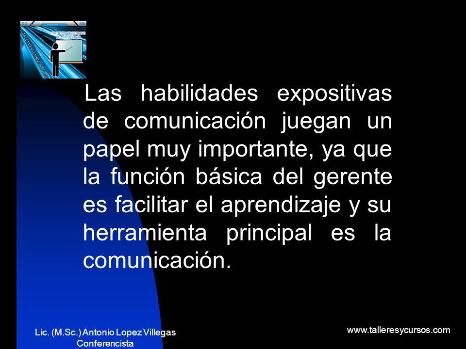 Lic. (M.Sc.) Antonio Lopez Villegas Conferencista www.talleresycursos.com ¿QUÉ ES LA GERENCIA?