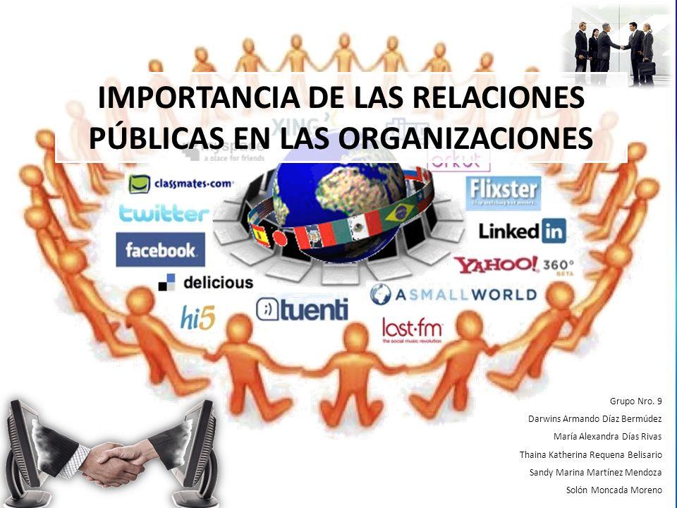Al finalizar la presentación multimedia el lector estará en capacidad de: Definir Relaciones Públicas y establecer la importancia de las mismas en las Organizaciones.
