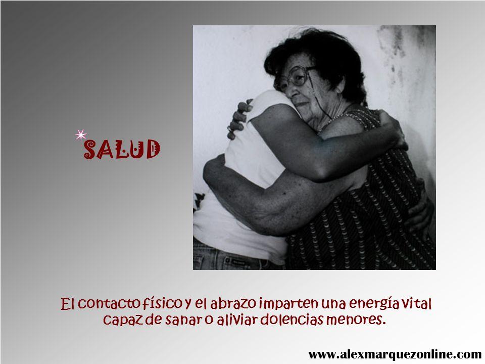 Cuando transferimos nuestra energía con un abrazo, aumentan nuestras propias fuerzas. FORTALEZA www.alexmarquezonline.com
