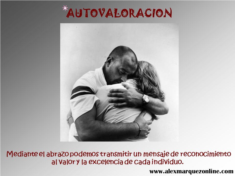El contacto físico y el abrazo imparten una energía vital capaz de sanar o aliviar dolencias menores. SALUD www.alexmarquezonline.com