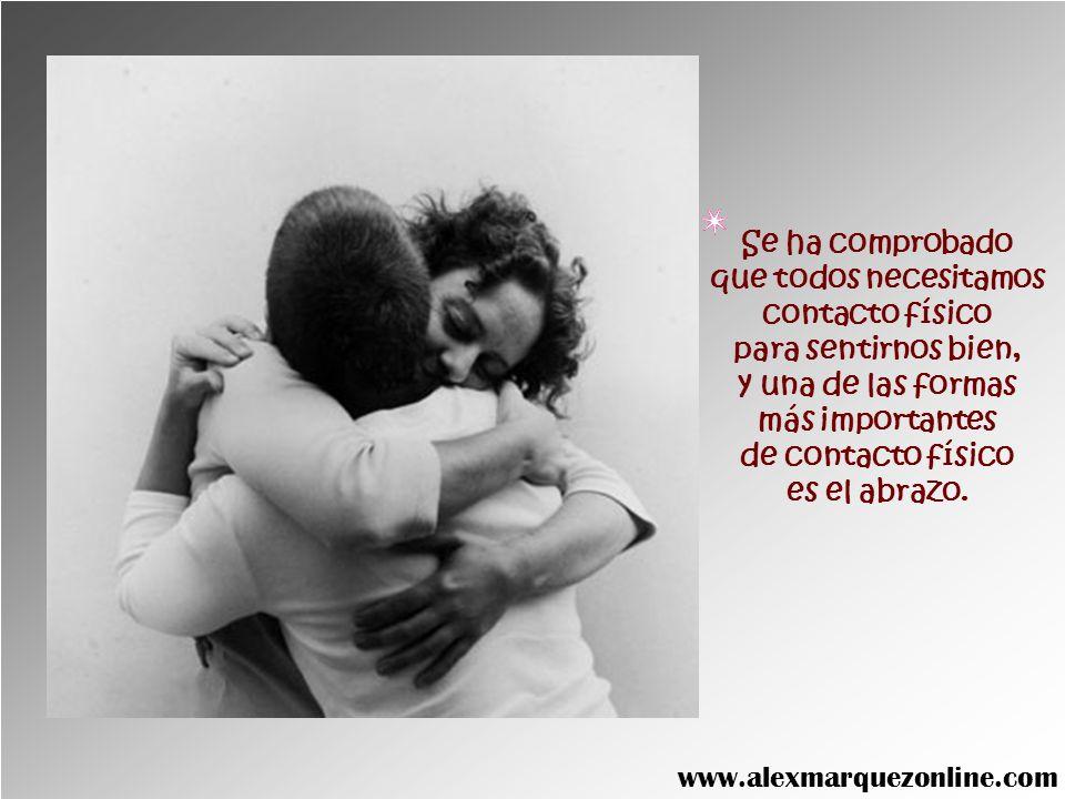 EL ABRAZO SALVADOR DE VIDAS www.alexmarquezonline.com