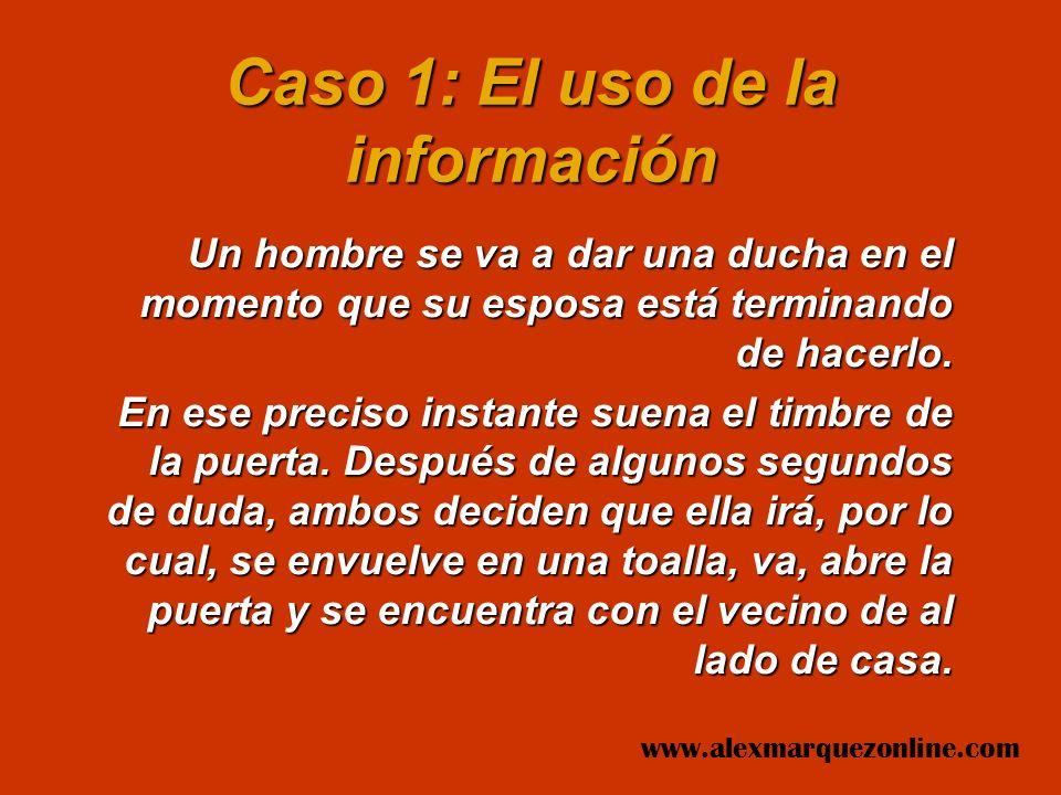 LECCIONES DE ESTRATEGIA EMPRESARIAL www.alexmarquezonline.com