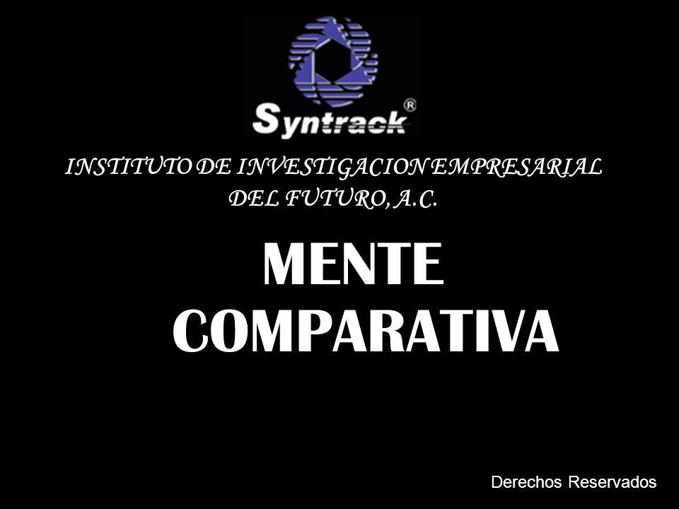 MENTE COMPARATIVA INSTITUTO DE INVESTIGACION EMPRESARIAL DEL FUTURO, A.C. Derechos Reservados