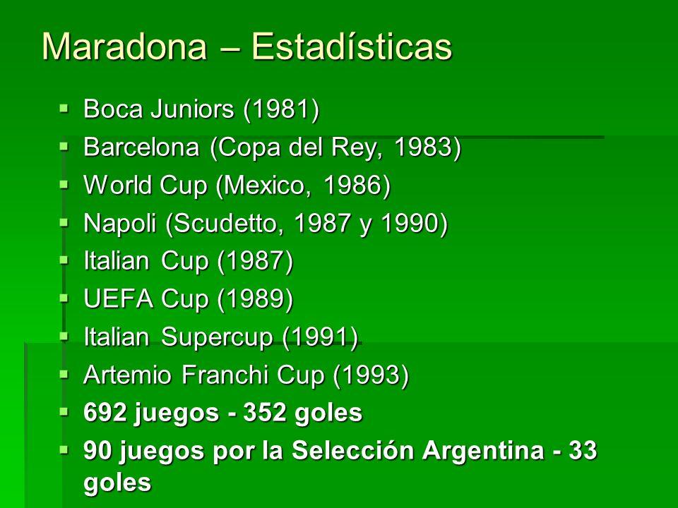 Pelé – Estadísticas 3 Mundiales - (1958, 1962 e 1970) 2 Mundiales Interclubes - Santos (1962 e 1963) 2 Copas Libertadores da América - Santos (1962 e
