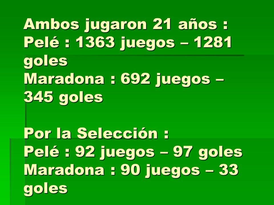 Maradona – Estadísticas Maradona – Estadísticas Boca Juniors (1981) Boca Juniors (1981) Barcelona (Copa del Rey, 1983) Barcelona (Copa del Rey, 1983)