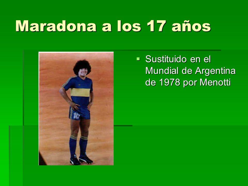 Maradona – Estadísticas Maradona – Estadísticas Boca Juniors (1981) Boca Juniors (1981) Barcelona (Copa del Rey, 1983) Barcelona (Copa del Rey, 1983) World Cup (Mexico, 1986) World Cup (Mexico, 1986) Napoli (Scudetto, 1987 y 1990) Napoli (Scudetto, 1987 y 1990) Italian Cup (1987) Italian Cup (1987) UEFA Cup (1989) UEFA Cup (1989) Italian Supercup (1991) Italian Supercup (1991) Artemio Franchi Cup (1993) Artemio Franchi Cup (1993) 692 juegos - 352 goles 692 juegos - 352 goles 90 juegos por la Selección Argentina - 33 goles 90 juegos por la Selección Argentina - 33 goles