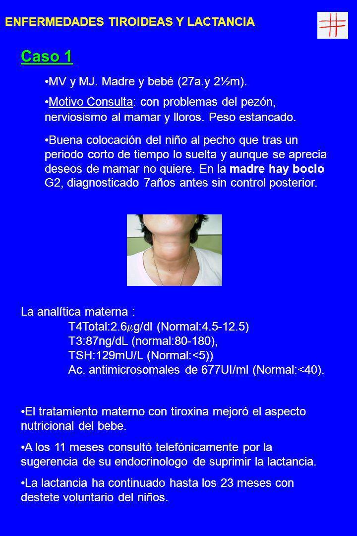 CG y PR.Madre y bebé (35 a.y 1m) Motivo consulta.