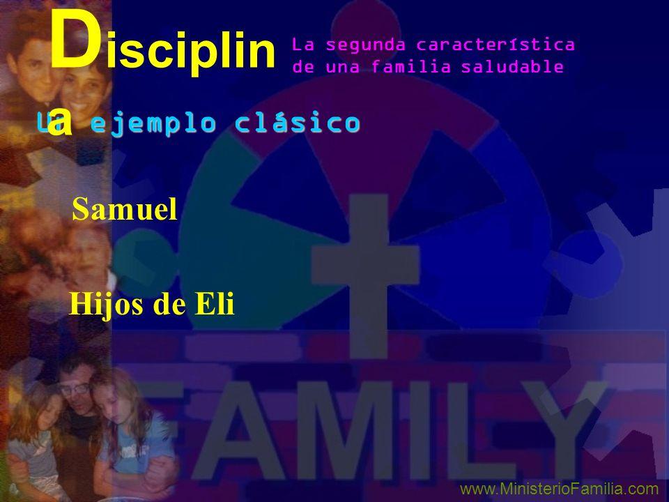 La disciplina da sabiduría (Prov. 29:15 and Eph. 6:4) Evita avergonzar a los padres (Prov. 29:15) Guarda los niños que vayan al infierno (Prov. 23:131
