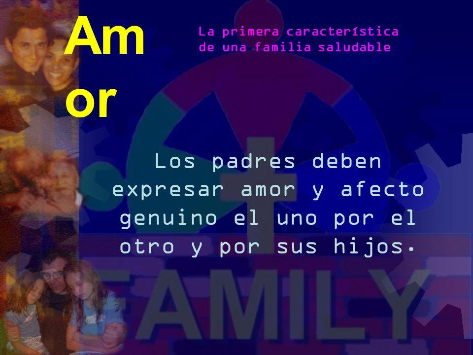 Es una familia saludable mentalmente, arraigada en Cristo con el fruto de hijos felices, maduros emocional y espiritualmente. Características de una F