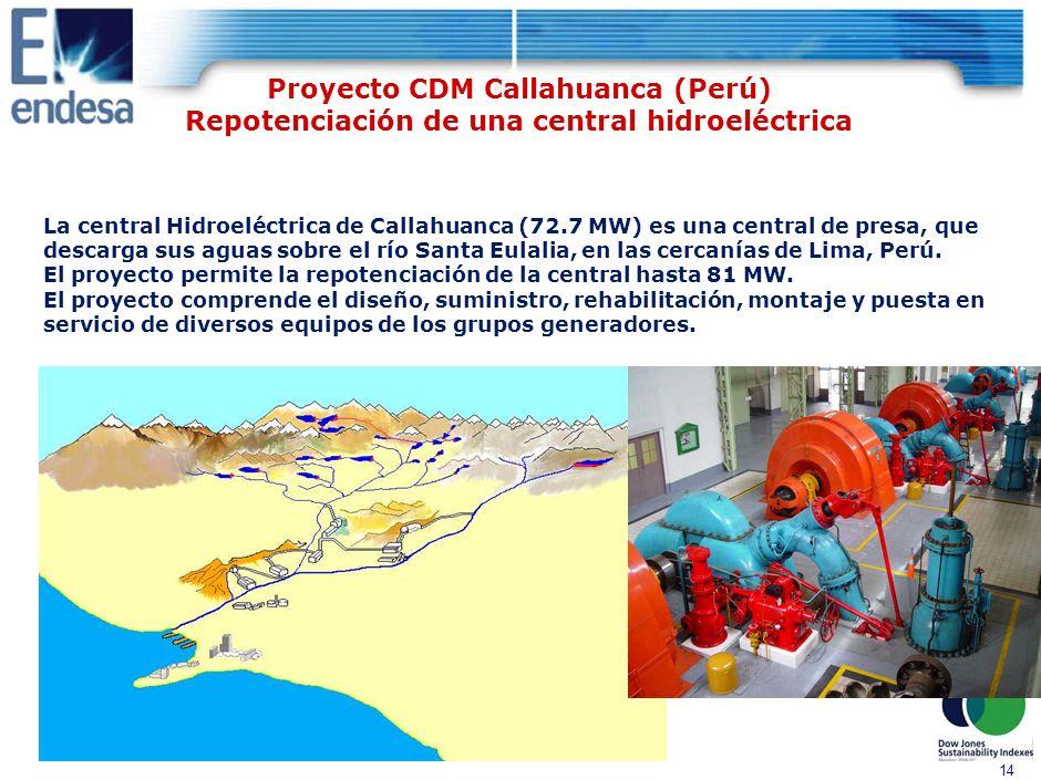 DRAFT 13 Proyecto MDL Sistema de Interconexión Eléctrica Países de América Central (SIEPAC) 1790 km de línea a 230 kV, combinando nuevos trazados y sustitución de línea actual.