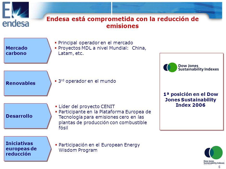 5 Opera 52 centrales en la región, con 14.100 MW instalados y dispone de Distribuidoras en todas las regiones CHILE N° Centrales: 23 Capac.