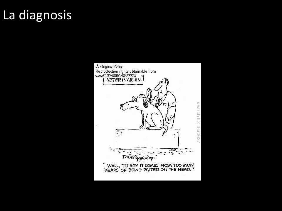 La diagnosis
