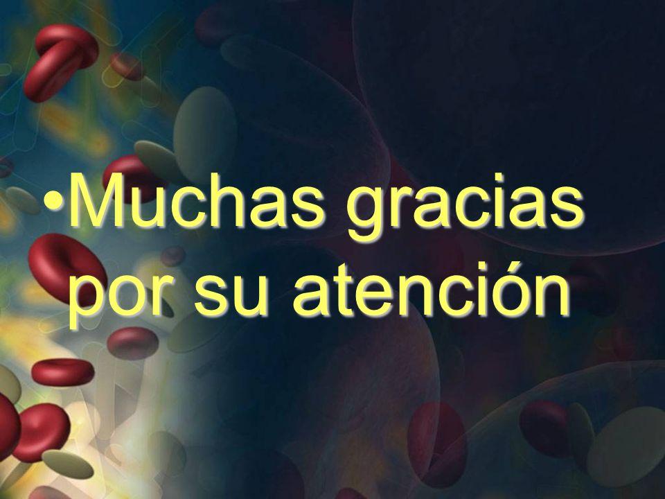 Muchas gracias por su atenciónMuchas gracias por su atención
