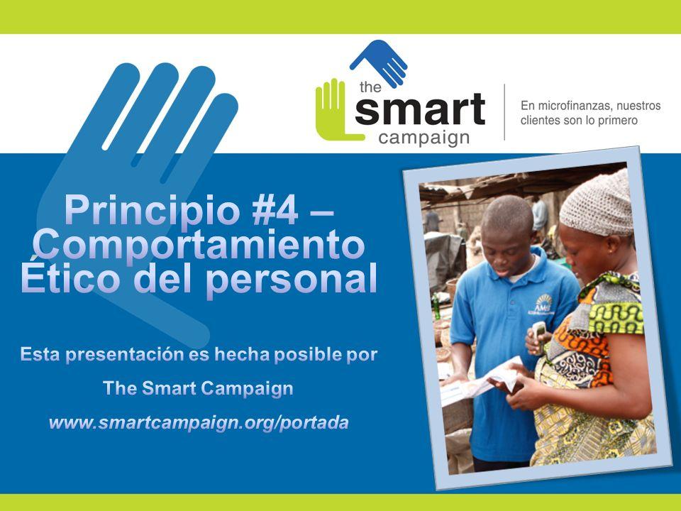 22 Resumen: La Campaña se ha desarrollado seis principios de protección de los clientes, uno de los cuales es el comportamiento ético del personal.