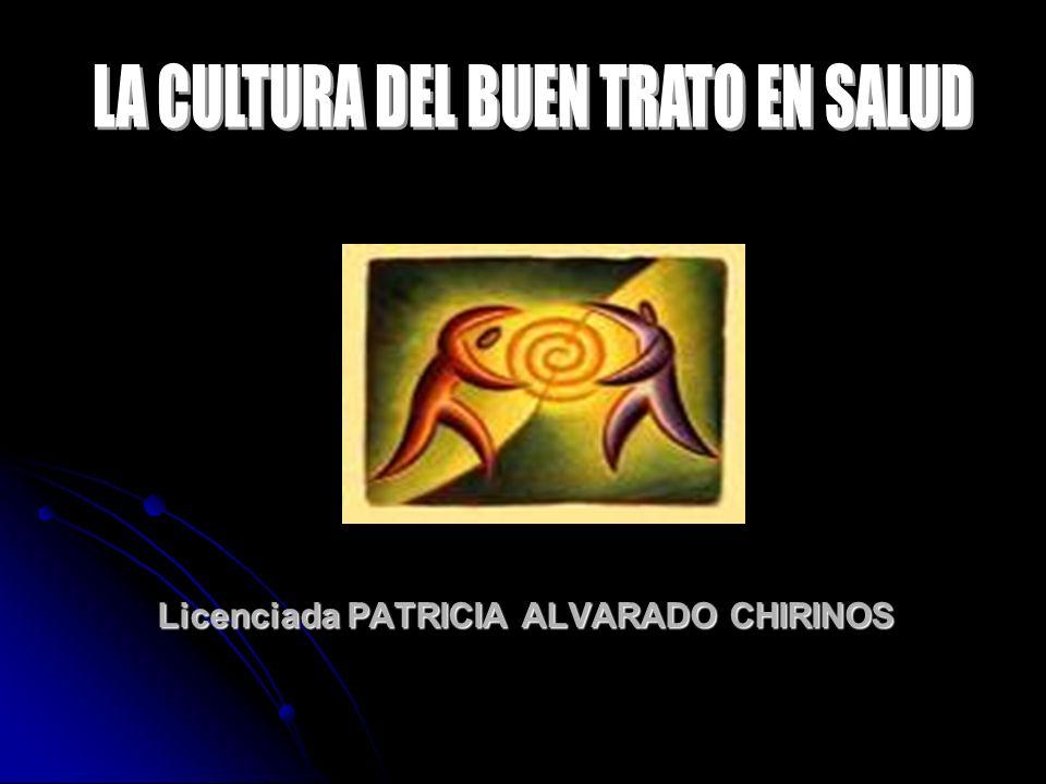 Licenciada PATRICIA ALVARADO CHIRINOS Licenciada PATRICIA ALVARADO CHIRINOS