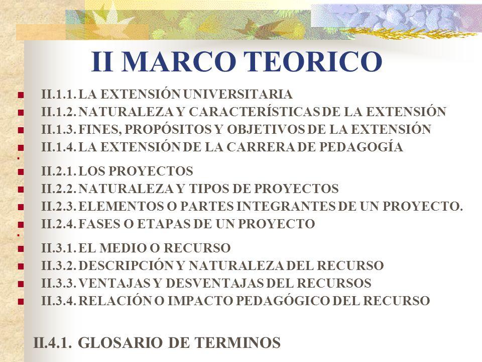 III MARCO METODOLOGICO III.1.