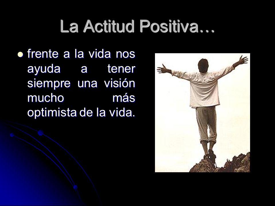 Importancia La actitud que tomas frente a los problemas o sucesos que se te presentan cotidianamente y ante la vida misma es finalmente lo que determina la dimensión e importancia de los mismos.