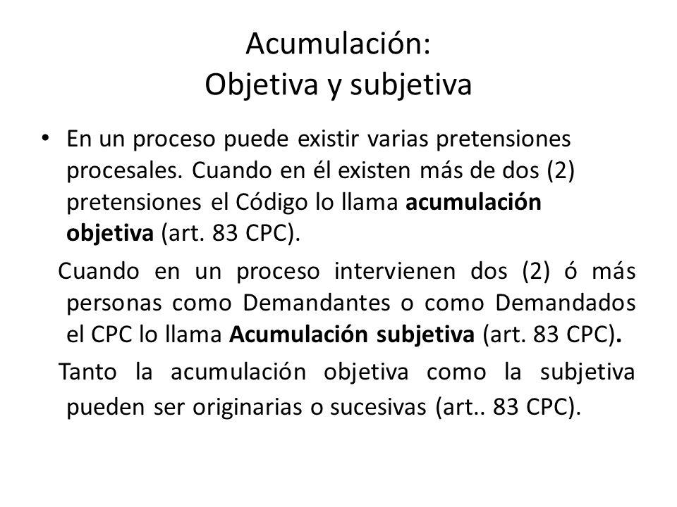 ACUMULACIÓN OBJETIVA A resolución de contrato de c-v B » indemnización » pago de frutos