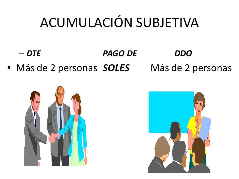 Acumulación Objetiva Originaria Cuando dos o más pretensiones se proponen en la misma demanda.