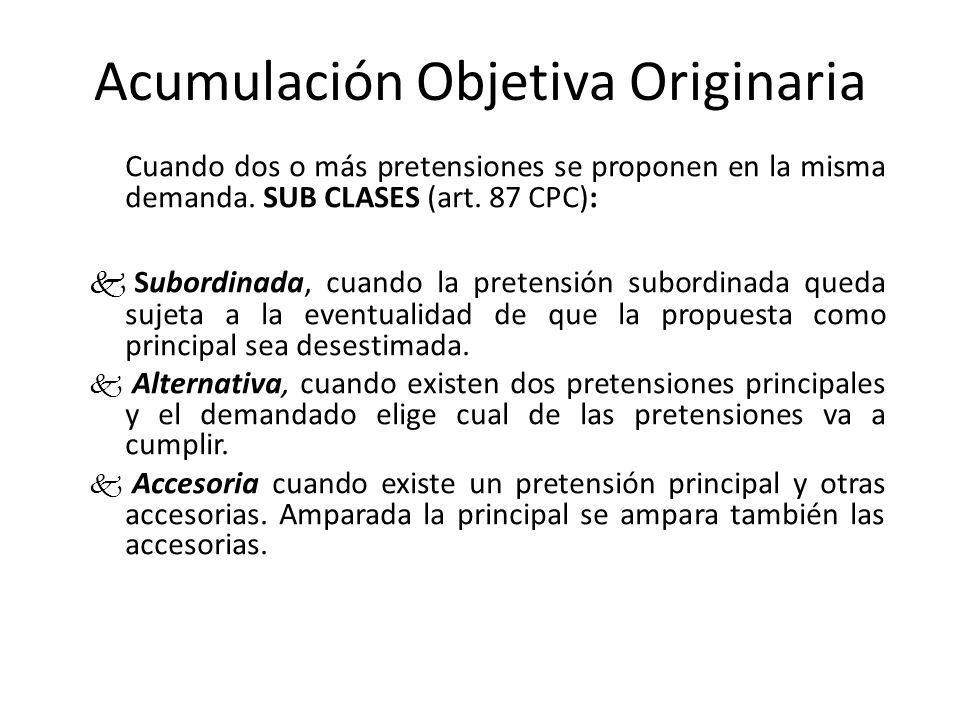 Acumulación Objetiva Originaria Subordinada VendedorComprador AC-VB A entrega la casa y B paga cuota inicial.