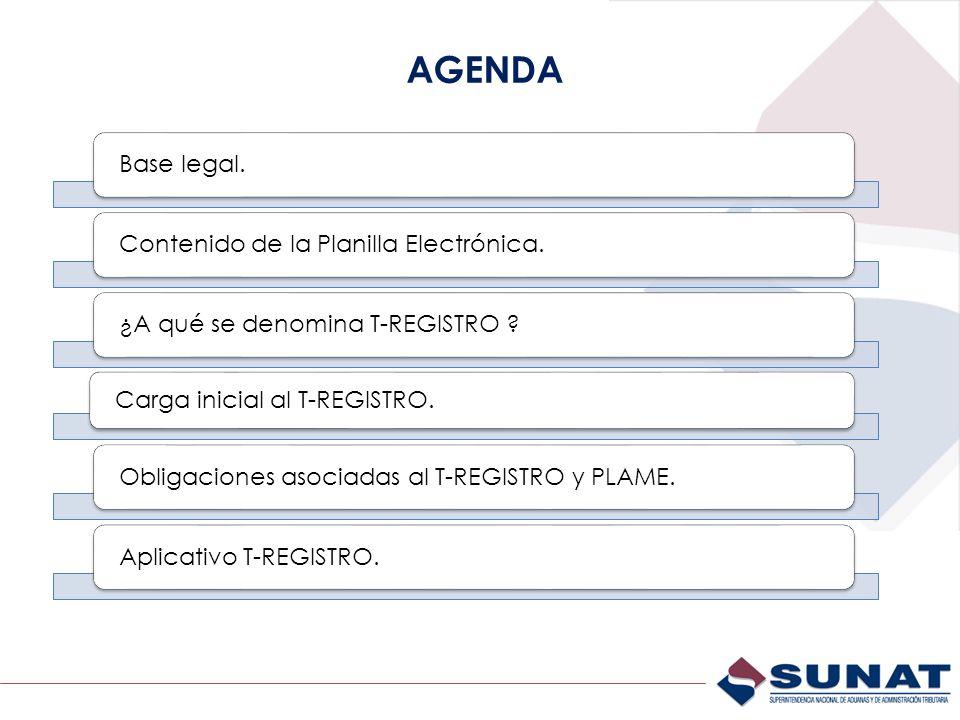 NUEVOS APLICATIVOS T-REGISTRO (SUNAT Operaciones en Línea)