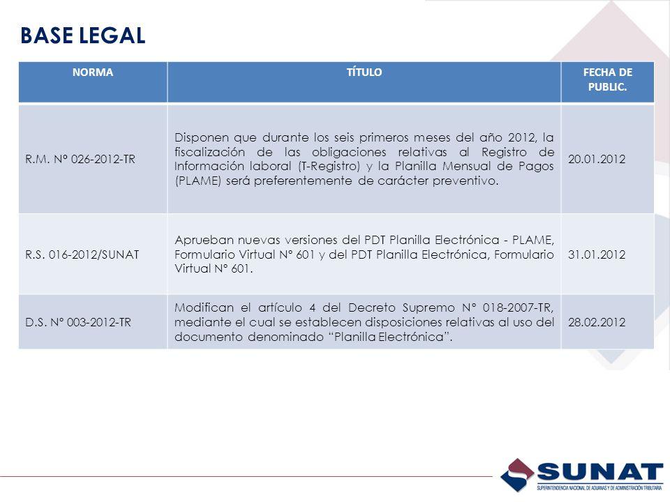 Verificar la información de carga inicial incorporada por SUNAT al T-REGISTRO El empleador debe verificar la información de carga inicial, a fin de que proceda a la baja, modificación/actualización o de ser necesario, a completar algún dato faltante.