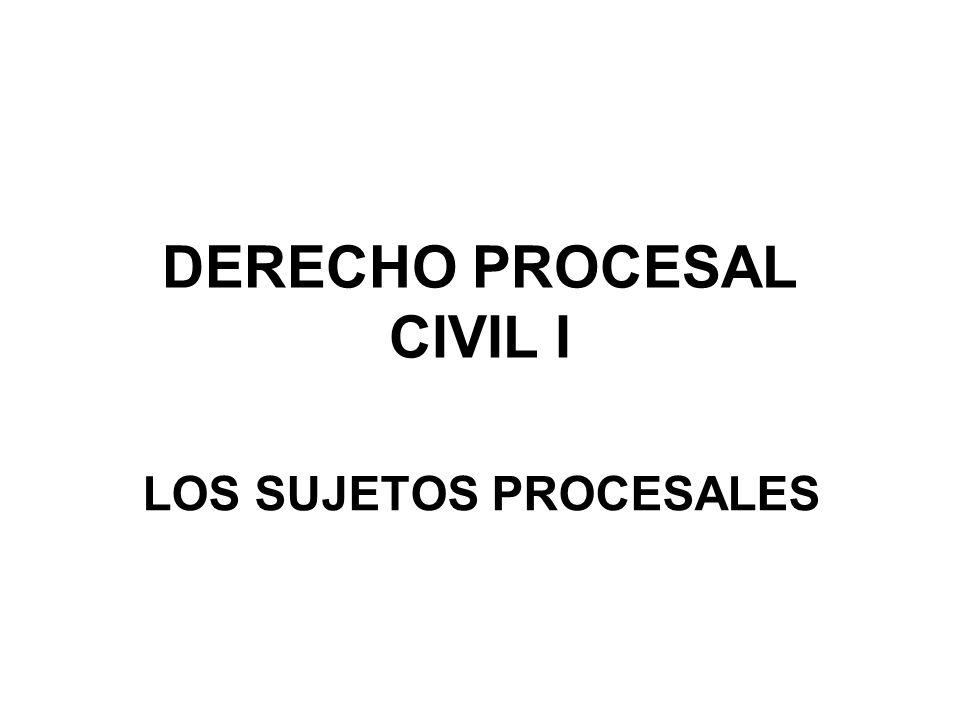 Los sujetos que intervienen en el proceso son: I.El Juez II.Las partes III.Los auxiliares jurisdiccionales IV.Los abogados V.El Ministerio Público
