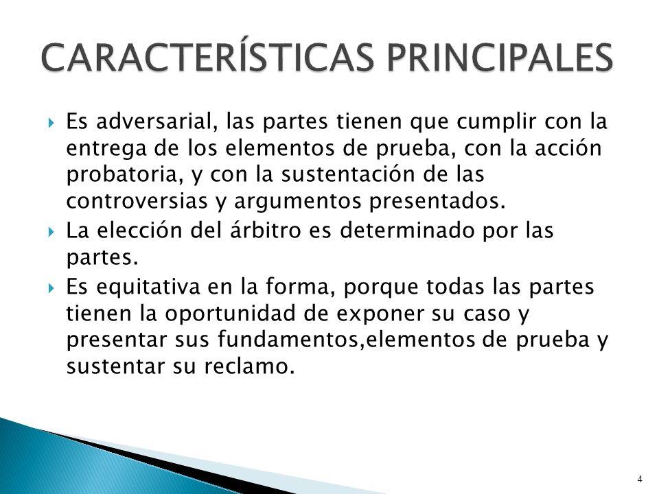 Principio rector del arbitraje: Autonomía de la voluntad o autonomía privada.