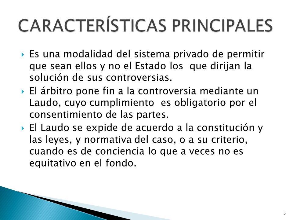 FRUTO DEL ACUERDO DE LAS PARTES (Art.13LGA).