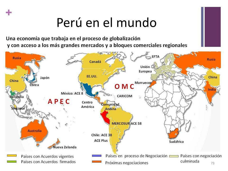 + 79 Perú en el mundo
