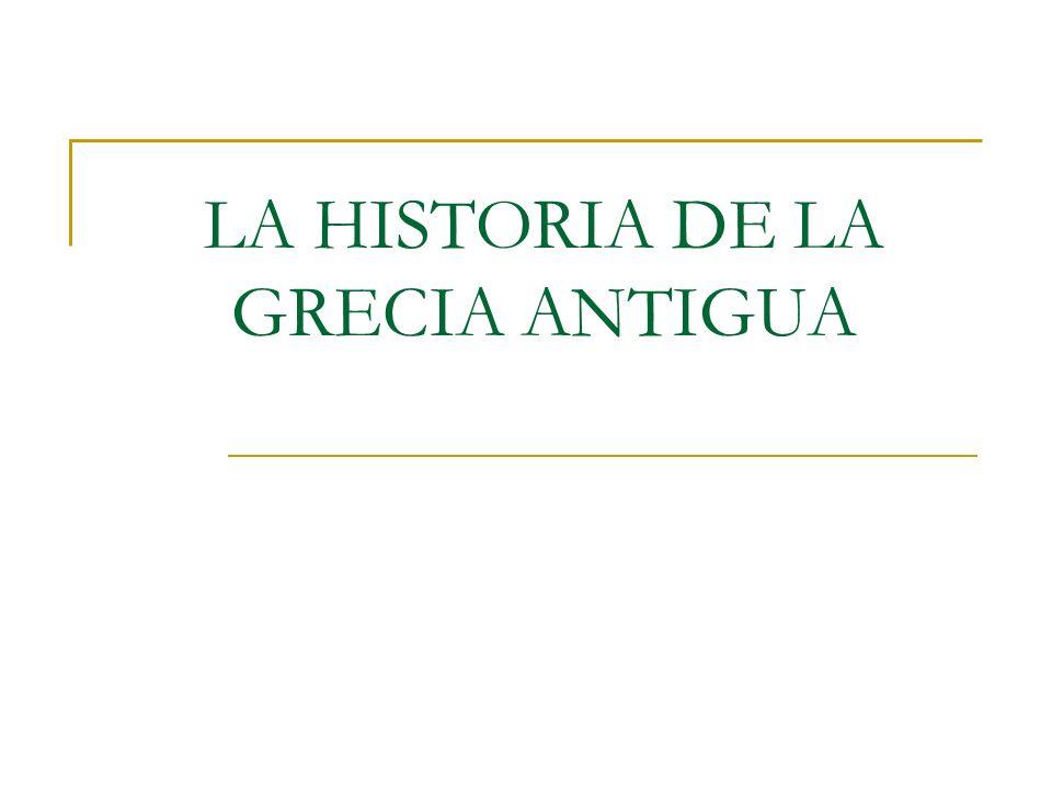LA GRECIA CLÁSICA Durante todo el siglo V, los atenienses impusieron su poder militar como potencia marítima.
