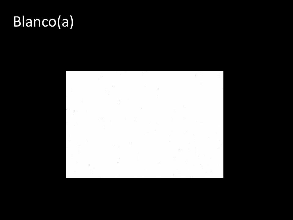 Blanco(a)