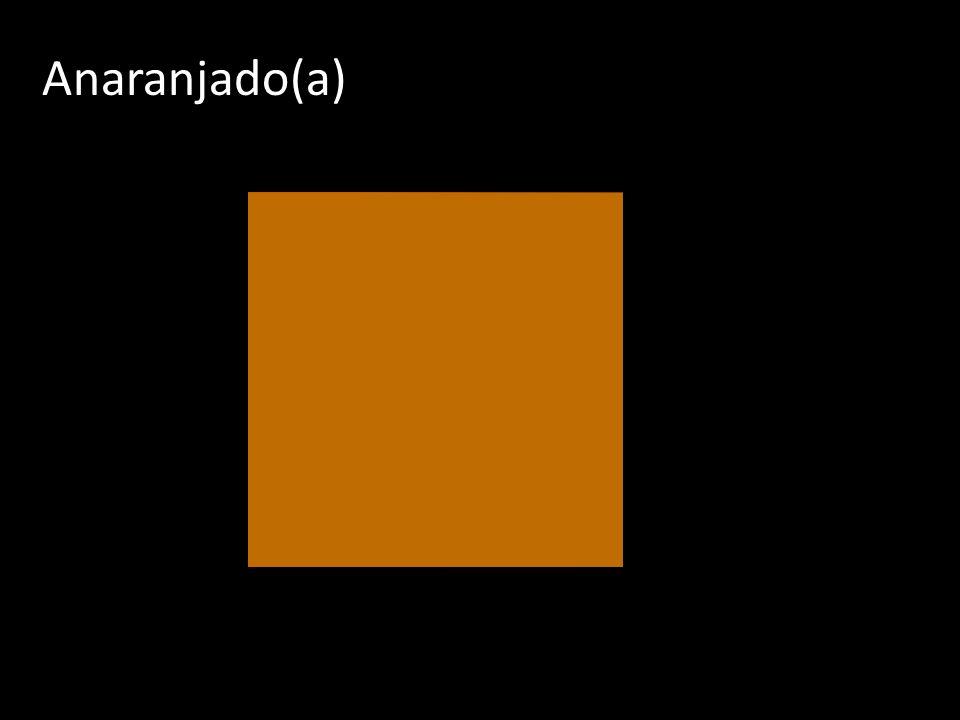 Anaranjado(a)