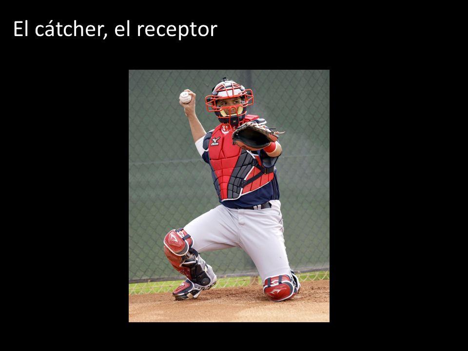 El cátcher, el receptor