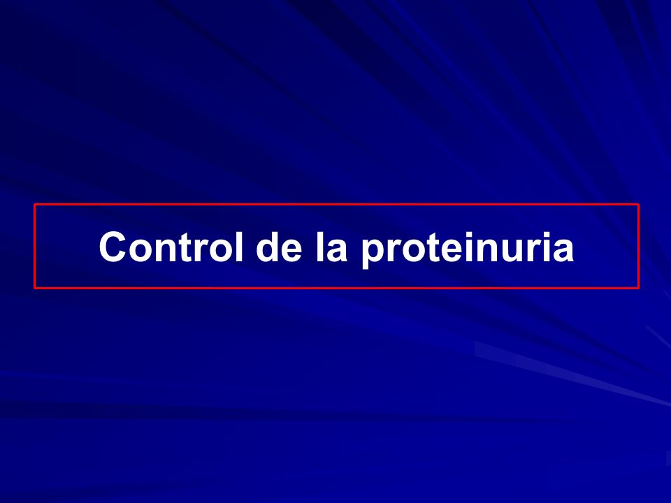 Renoprotección Estudio REIN Ruggenenti P et al: Renoprotective properties of ACE-inhibition in non- diabetic nephropathies with non-nephrotic proteinuria.