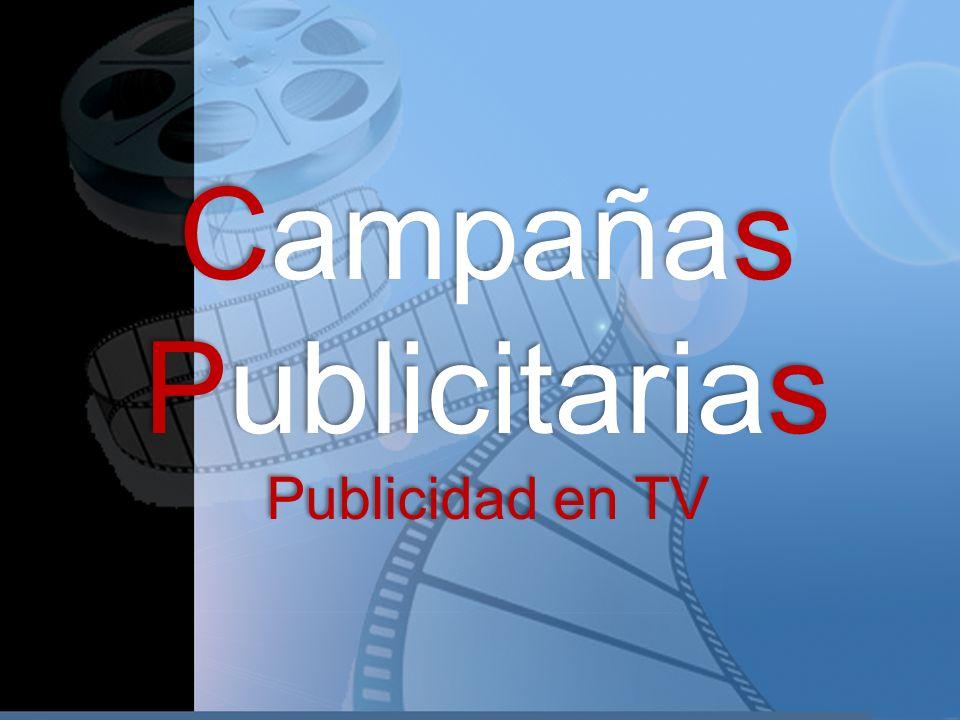 Campañas Publicitarias Publicidad en TV